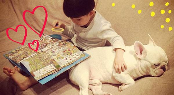 This Boy and His Bulldog Are Melting The Internet With Cuteness